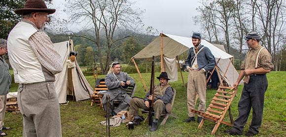 Reenactment Camp
